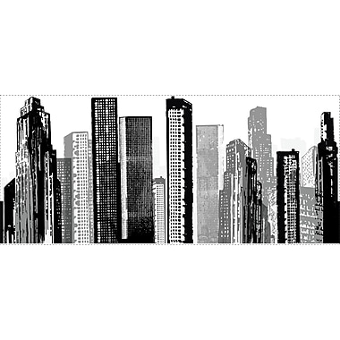 RoomMates® Cityscape Peel and Stick Giant Wall Decal, 18in. x 40in.