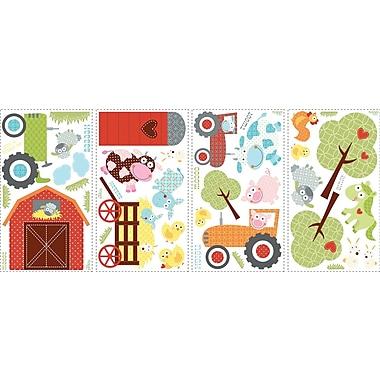 RoomMates® Happi Barnyard Peel and Stick Wall Decal, 10