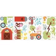 RoomMates® Happi Barnyard Peel and Stick Wall Decal, 10 x 18