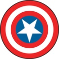 RoomMates® Captain America Vintage Shield Peel and Stick Giant Wall Decal, 27in. x 40in.