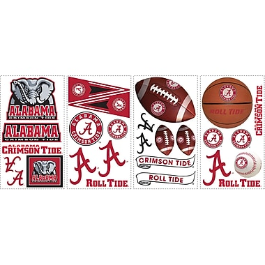 RoomMates® University of Alabama® Peel and Stick Wall Decal, 10