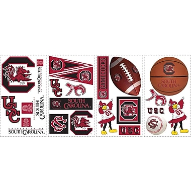 RoomMates® University of South Carolina® Peel and Stick Wall Decal, 10