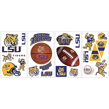 RoomMates® Louisiana State University® Peel and Stick Wall Decal, 10in. x 18in.