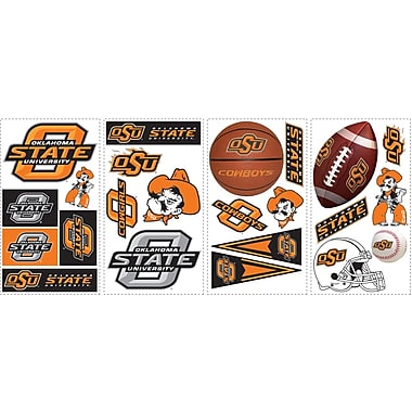 RoomMates® Oklahoma State University® Peel and Stick Wall Decal, 10in. x 18in.