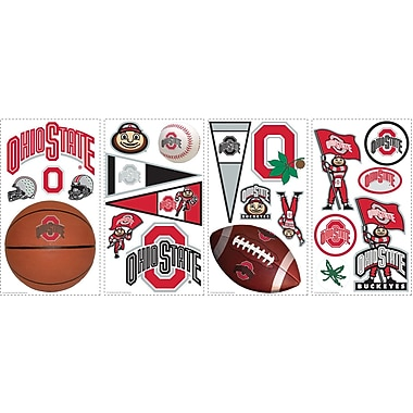 RoomMates® Ohio State University™ Peel and Stick Wall Decal, 10in. x 18in.