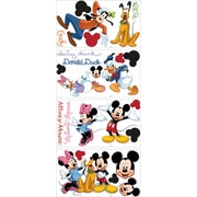 RoomMates® Mickey and Friends Peel and Stick Wall Decal, 10 x 18