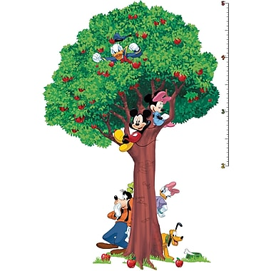 RoomMates® Mickey and Friends Peel and Stick Growth Chart, 18in. x 40in., 27in. x 40in.