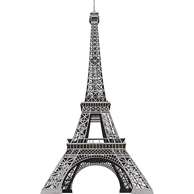 RoomMates® Eiffel Tower Peel and Stick Giant Wall Decal, 18in. x 40in., 9in. x 40in.