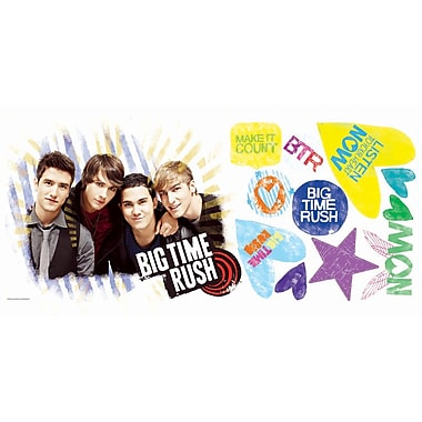RoomMates® Big Time Rush Peel and Stick Giant Wall Decal, 18in. x 40in.