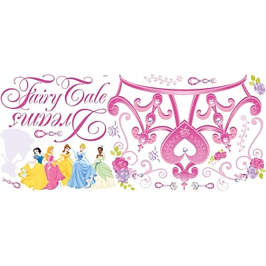 RoomMates® Disney Princess Crown Peel and Stick Giant Wall Decal, 18in. x 40in.