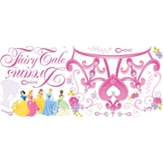 "RoomMates® Disney Princess Crown Peel and Stick Giant Wall Decal, 18"" x 40"""