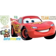 RoomMates® Cars 2 Lightning McQueen Peel and Stick Giant Wall Decal, 18 x 40