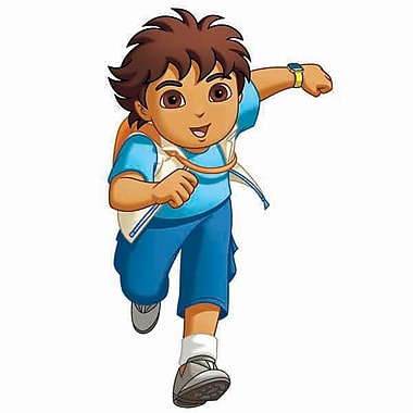 RoomMates® Go Diego Go! Peel and Stick Giant Wall Decal, 18