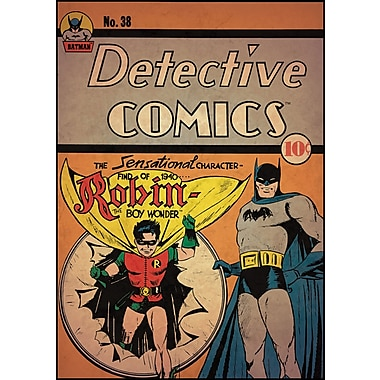 RoomMates® Batman™ and Robin Comic Cover Peel and Stick Giant Wall Decal, 27in. x 40in.