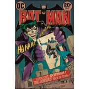 RoomMates® Batman™ and The Joker Comic Cover Peel and Stick Giant Wall Decal, 27 x 40