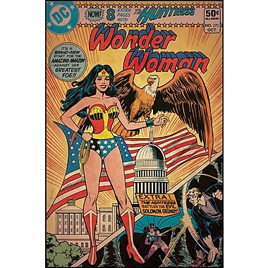 RoomMates® Wonder Woman Comic Cover Peel and Stick Giant Wall Decal, 27in. x 40in.