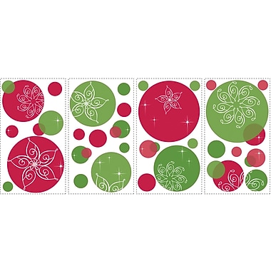RoomMates® Festive Dots Peel and Stick Wall Decal, 18in. H x 10in. W