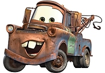 RoomMates® Cars Mater Peel and Stick Giant Wall Decal, 18' x 40'