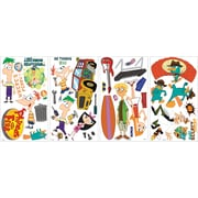 RoomMates® Phineas and Ferb Peel and Stick Wall Decal, 10 x 18