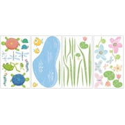 RoomMates® Hoppy Pond Peel and Stick Wall Decal, 10 x 18