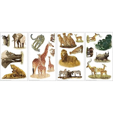 RoomMates® Safari Peel and Stick Wall Decal, 10in. x 18in.
