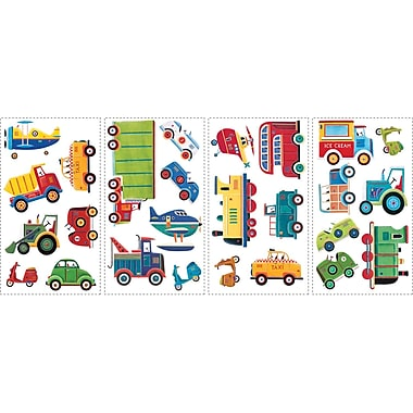 RoomMates® Transportation Peel and Stick Wall Decal, 10