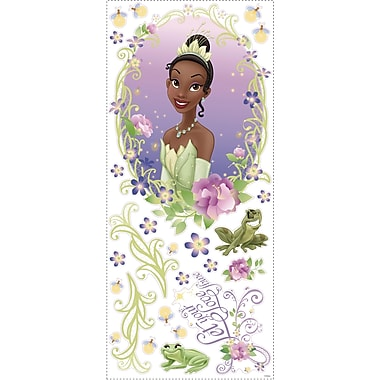 RoomMates® The Princess and The Frog Peel and Stick Wall Medallion with 3D Butterflies, 18in. x 40in.