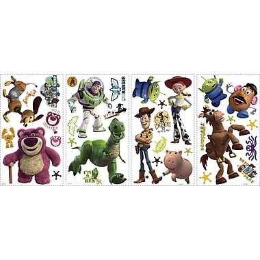 RoomMates® Toy Story 3 Glow in the Dark Peel and Stick Wall Decal, 10
