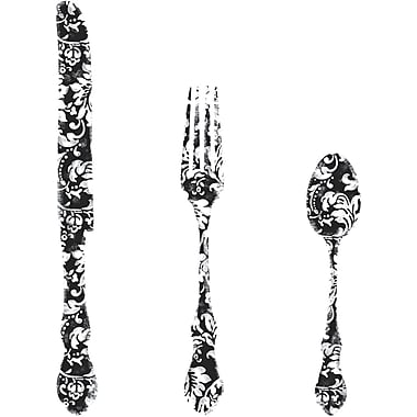 RoomMates® Good Times Silverware Giant Peel and Stick Wall Decal, 10in. x 18in.