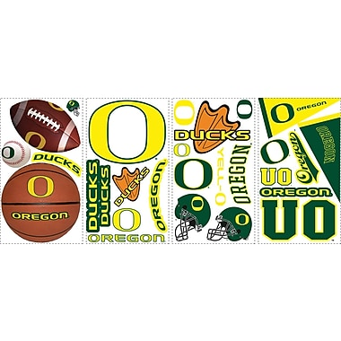 RoomMates® University of Oregon® Peel and Stick Wall Decal, 10