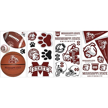 RoomMates® Mississippi State University™ Peel and Stick Wall Decal, 10in. x 18in.