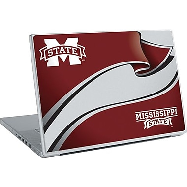 RoomMates® Mississippi State University™ Peel and Stick Laptop Wear, 10 2/7in. H x 14 1/4in. W