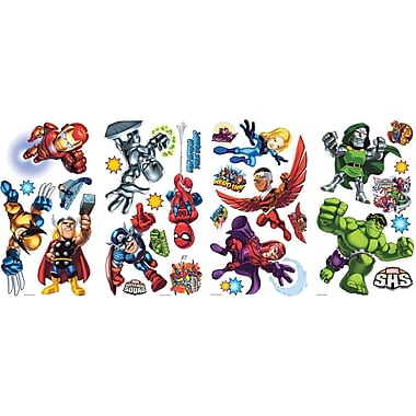 RoomMates® Marvel Super Hero Squad Peel and Stick Wall Decal, 10in. x 18in.