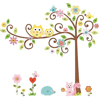 RoomMates® Scroll Tree Peel and Stick Mega Pack Wall Decal, 27in. x 40in., 18in. x 40in.