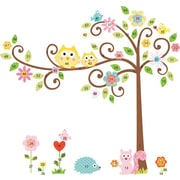 "RoomMates® Scroll Tree Peel and Stick Mega Pack Wall Decal, 27"" x 40"", 18"" x 40"""
