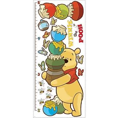 RoomMates® Pooh and Friends Peel and Stick Growth Chart, 18in. x 40in.