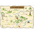 RoomMates® Pooh and Friends 100 Aker Wood Maps Peel and Stick Wall Decal, 27in. x 40in.