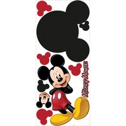 "RoomMates® Mickey Mouse Chalkboard Peel and Stick Wall Decal, 40"" H x 18"" W"