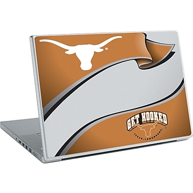 RoomMates® University of Texas™ Peel and Stick Laptop Wear, 10 2/7in. H x 14 1/4in. W
