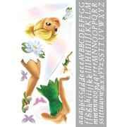 RoomMates® Tinker Bell Peel and Stick Giant Wall Decal with Alphabet, 18 x 40, 9 x 40