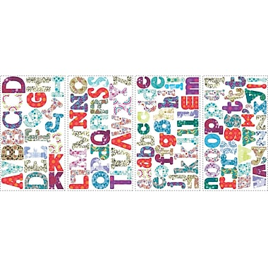 RoomMates® Boho Alphabet Peel and Stick Wall Decal, 10in. x 18in.