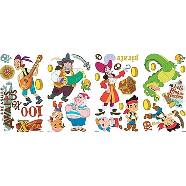 RoomMates® Jake and the Neverland Pirates Peel and Stick Wall Decal, 10