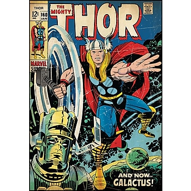 RoomMates® Mighty Thor Comic Cover Peel and Stick Giant Wall Decal, 27in. x 40in.
