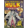 RoomMates® Incredible Hulk Issue #1 Comic Cover Peel and Stick Giant Wall Decal, 27in. x 40in.