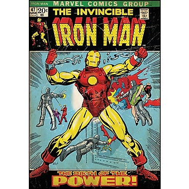 RoomMates® Iron Man Comic Cover Peel and Stick Giant Wall Decal, 27in. x 40in.