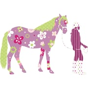 "RoomMates® Horse Crazy Peel and Stick MegaPack Wall Decal, 27"" x 40"""