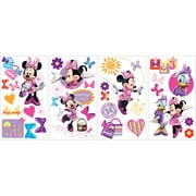 "RoomMates® Minnie Bow-Tique Peel and Stick Wall Decal, 10"" x 18"""