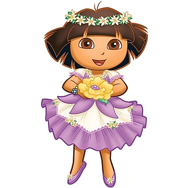 RoomMates® Dora's Enchanted Forest Peel and Stick Giant Wall Decal, 18in. x 40in.