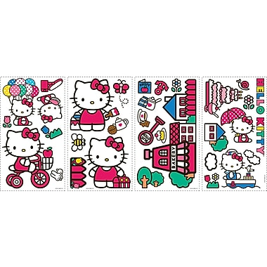 RoomMates® World of Hello Kitty Peel and Stick Wall Decal, 10