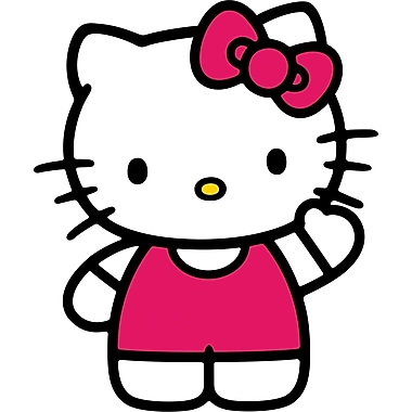 RoomMates® World of Hello Kitty Peel and Stick Giant Wall Decal, 18